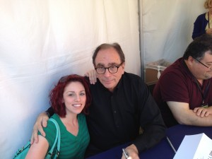 Me and RL Stine, Tucson Festival of Books, March 2014